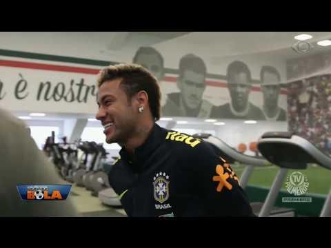 Neto Diz Que Neymar Fez Média Em Sua Visita Ao Verdão