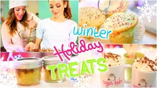 Easy + Delicious Diy Winter/holiday Treats With Niki And Gabi!