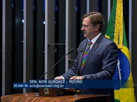 Acir Gurgacz enfatiza necessidade das obras de infraestrutura para o país