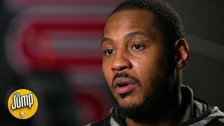 'I was ready to walk away': Carmelo Anthony opens up on his NBA comeback with the Blazers | The Jump