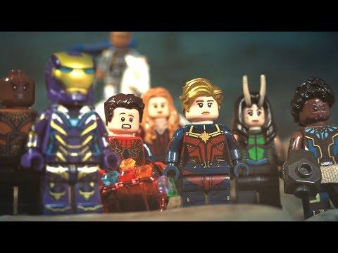 LEGO Avengers Endgame Final Battle Female Avengers Unite Scene A-Force Lego Stop Motion