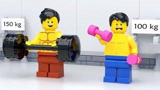 LEGO Gym Fail - Funny LEGO Stop Motion Animation (2018)