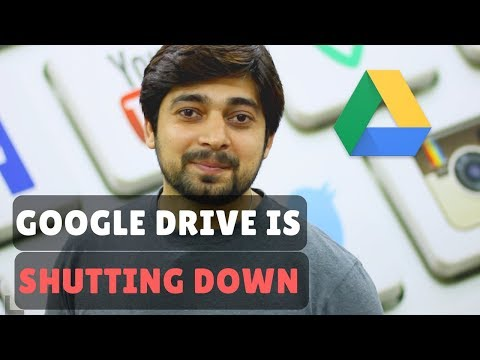 Google Drive app for PC and MAC is shutting Down