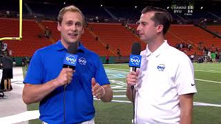 Spencer Linton & Jarom Jordan Hawai'i Bowl postgame Wrap Up 11.24.19