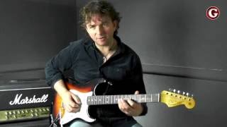 A minor pentatonic scale lick - shape 1 - Friday Funk | Online Guitar Lessons