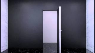 Система открывания Инвизибл - межкомнатные двери Профил Доорс Алматы Казахстан(Конструктив короба данной системы позволяет установить дверное полотно вровень со стеной, без обрамления..., 2015-09-28T05:56:01.000Z)