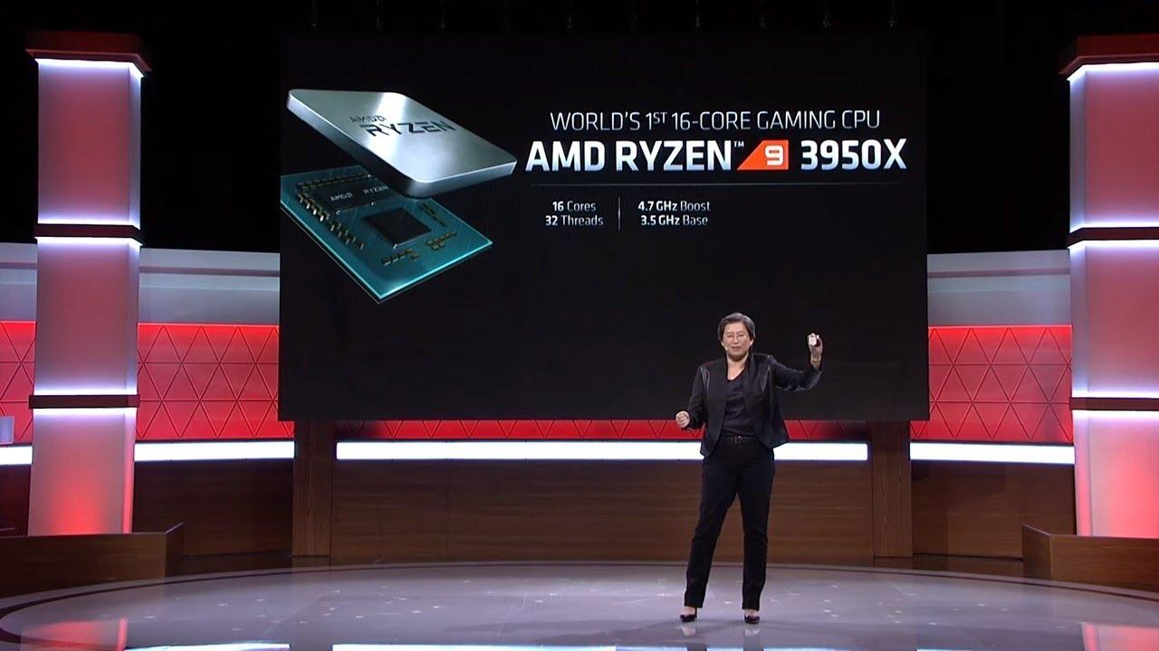 【Huan】 16核32線呈的主流平臺CPU降臨了! 美國E3電玩展AMD發布會重點介紹 - YouTube
