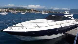Princess V58 Bateau d'occasion a vendre chez Santarelli Marine a Ajaccio en Corse du sud