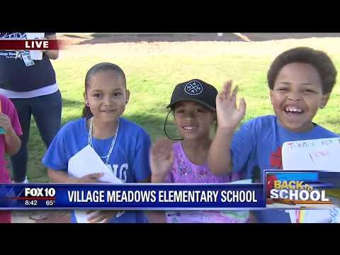 Back to school: Village Meadows Elementary School