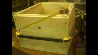 Сборка корпусов 10 рамочного улья с помощью ременной струбцины Stenleyu