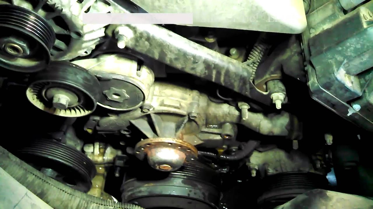Water pump replacement 1998 Chevrolet Lumina 38L V6 Install Remove Replace  YouTube