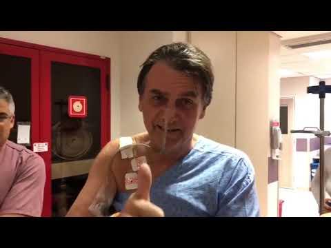 Bolsonaro mostra GRANDE PROGRESSO no hospital #MITOESTAVOLTANDO