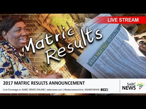 2017 Matric Results Announcement: 04 January 2018
