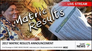 2017 Matric Results Announcement, 04 January 2018