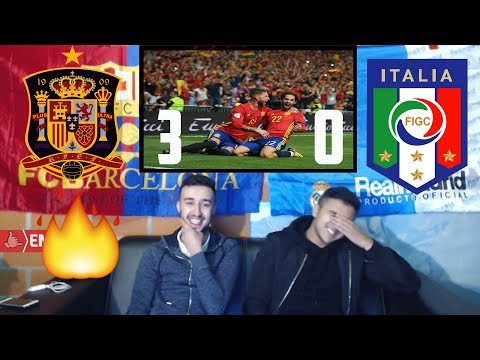 PRINCE ISCO HELPS SPAIN BEAT ITALY 3-0 - Highlights Reaction