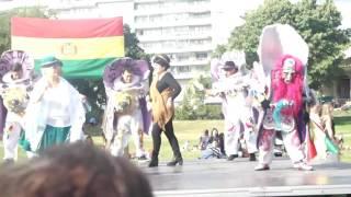 Bolivia nationaldag 2016