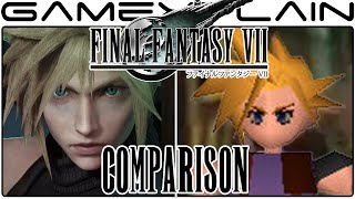 Final Fantasy VII Remake Head-to-Head Comparison (PS4 vs. PS1)