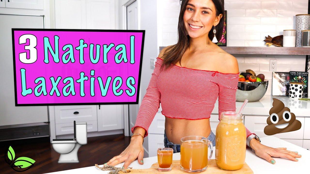 3 NATURAL LAXATIVES!💩 Yovana - YouTube