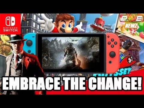Nintendo Switch - This is NOT Wii U/3DS! Embrace Options, Change & 1st/3rd Party Variety!