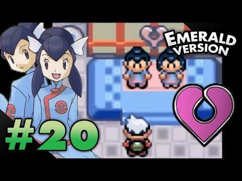 Let's Play Pokemon: Emerald - Part 20 - Mossdeep Gym Leaders Tate & Liza