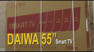 Daiwa 55 inch Full HD smart LED TV review – बड़ा टीवी at Rs. 40,990