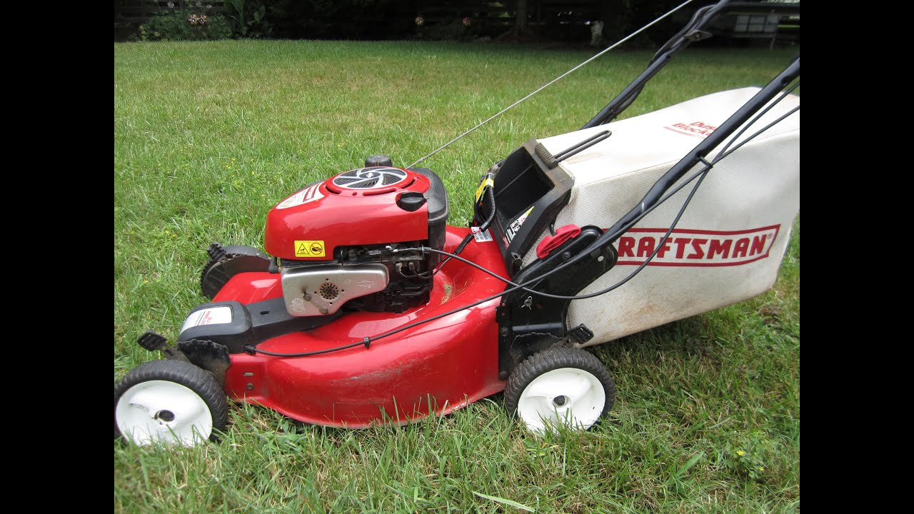 Sears Craftsman 22 Quot Series 650 Lawn Mower Craigslist Find