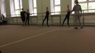 Открытый урок хореографии в художественной гимнастике часть 2