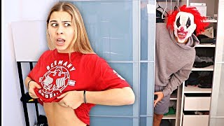 Scaring My Girlfriend With Her Biggest Fear.. **CLOWN PRANK**