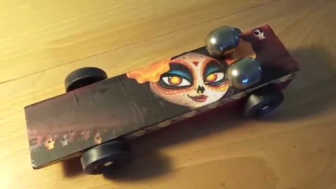 Girl Scout Pinewood Derby Car Puff Derby Book Of Life