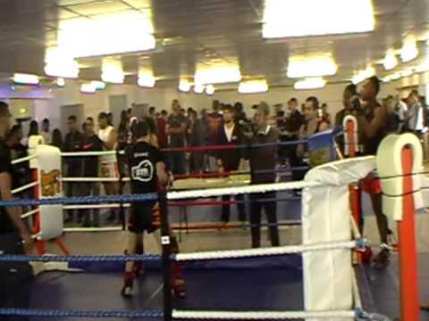 Swindon Muay Thai Dane Frost's 1st Muay Thai Fight 19/06/11.MOD