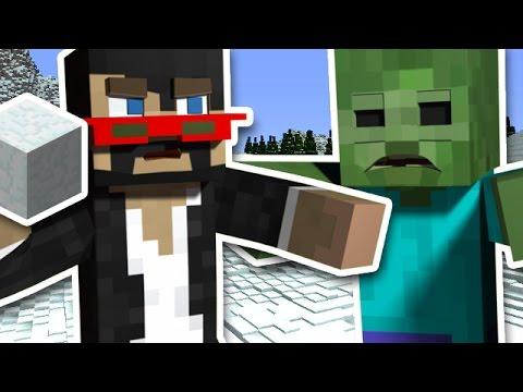 Minecraft: SNOW FORT DEFENSE w/ X33N