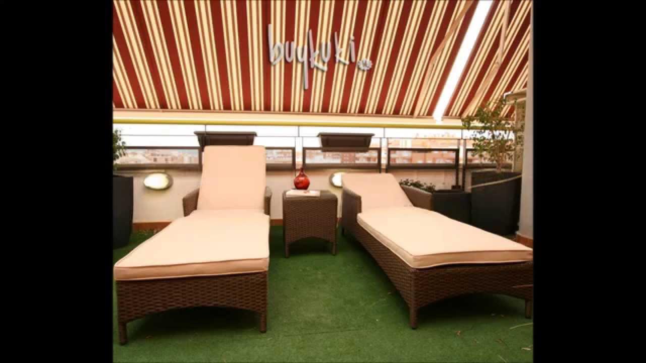 Muebles de rattan sintetico buykuki youtube for Muebles de jardin rattan