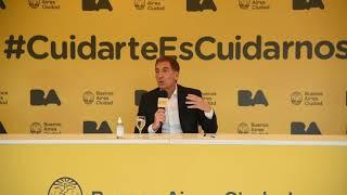 """Diego Santilli: """"Tenemos que seguir manteniendo nuestro cuidado y nuestra responsabilidad"""""""