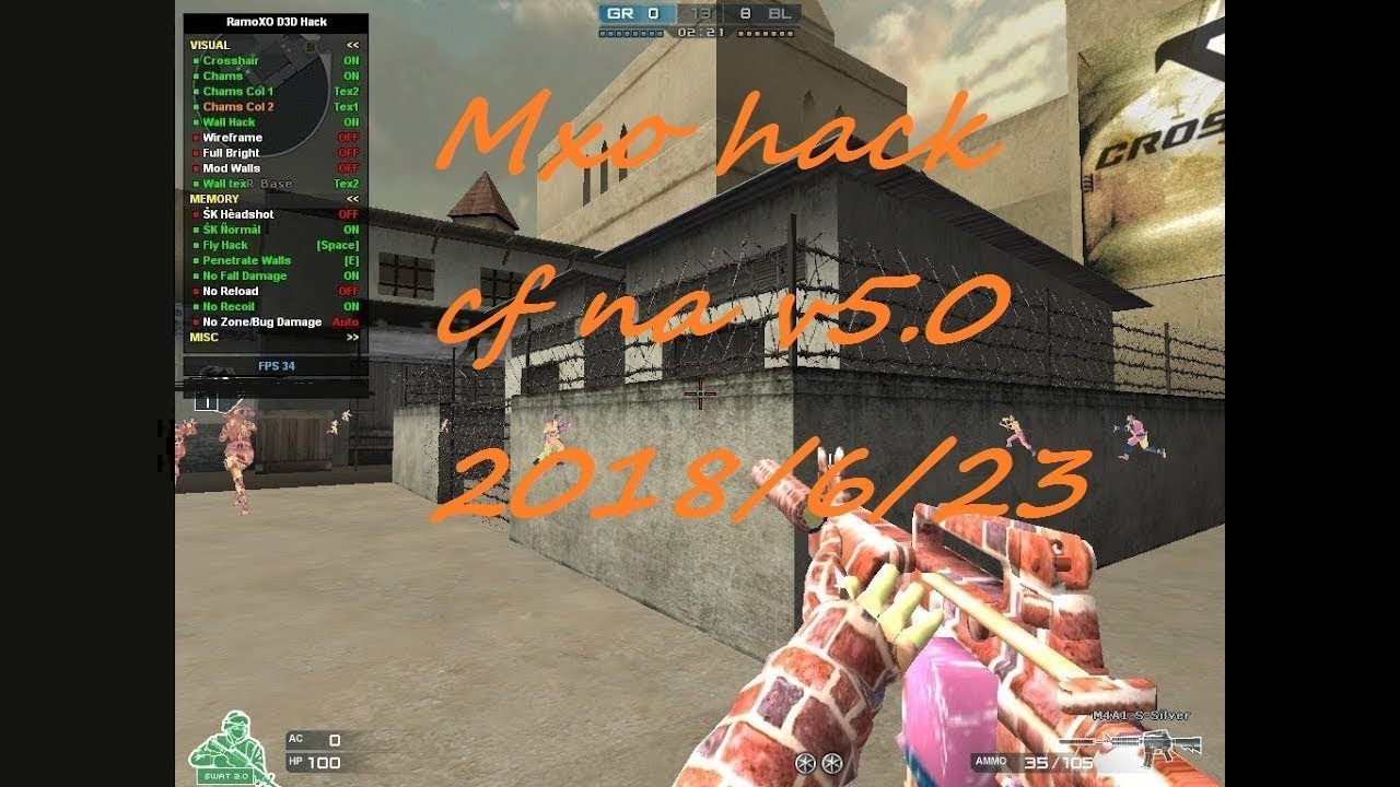 Mxo hacks VIP V5 0 Crossfire NA/AL Hack! Super Kill ,Aimbot ,Invisible ,ESP  ,No Recoil ,Fly &More