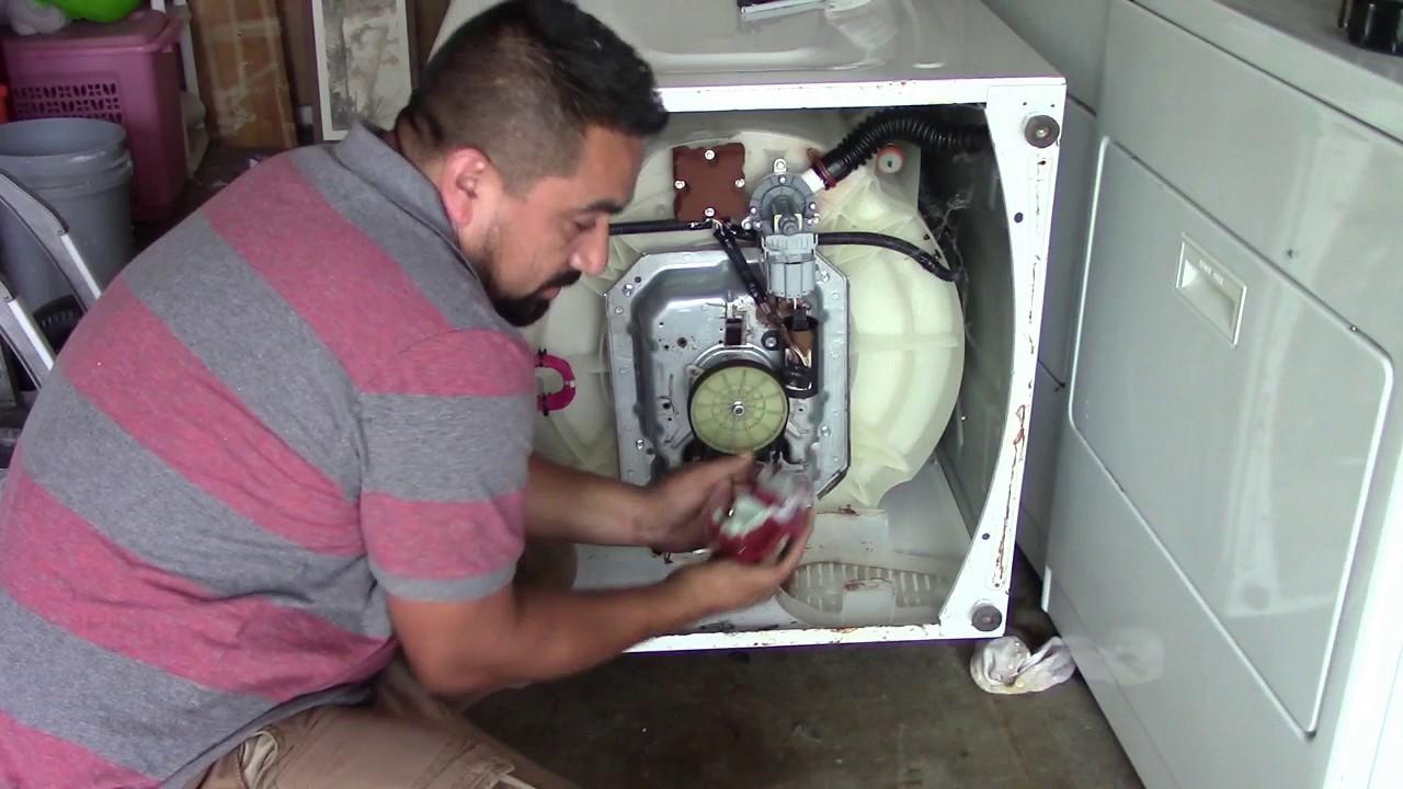 Como arreglar lavadora maytag centennial que no arranca o for Como reparar una lavadora