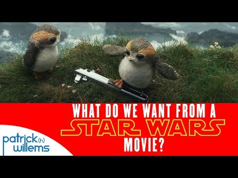 What Do We Want From a Star Wars Movie?