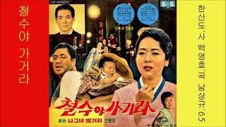 철수야 가거라 1965 남상규 영화 나그네 밤거리 주제…