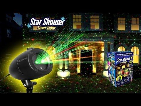 Star Shower Laser Light  Projector Отзывы