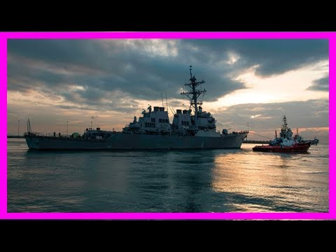 2 top officers of navy ship john s. mccain are removed   News Today