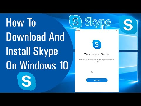 How To Download And Install Skype On Windows 10 ||Hindi||
