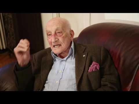 Acasă la domnul Neagu Djuvara în anul centenarului