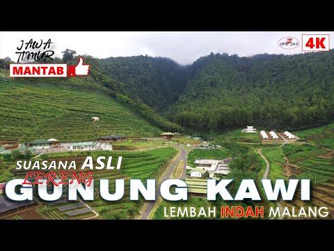 Lembah Indah Malang Di Lereng Gunung Kawi Video Drone 4k Youtube