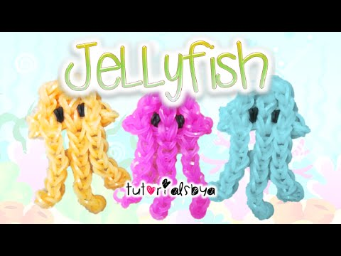 Jellyfish Rainbow Loom Charm Tutorial | How To
