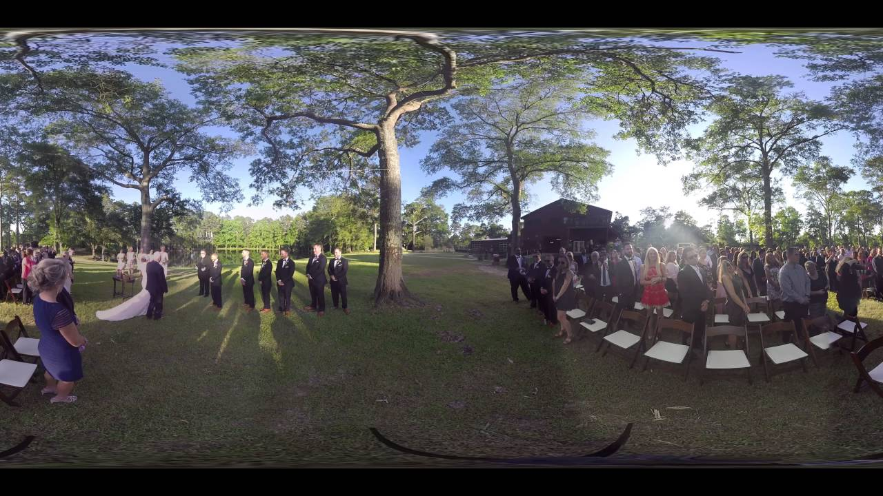 Vr 360 Wedding Ceremony: 360 VR Wedding Ceremony Rustic Rose In Willis Texas