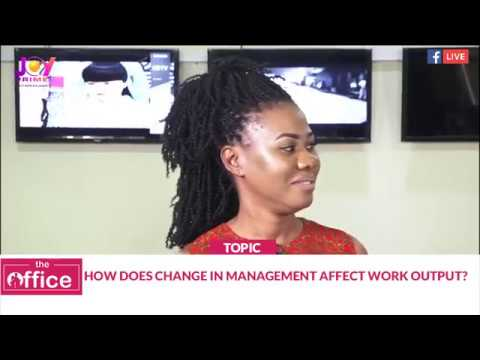 THE OFFICE - How does change in management affect work output?