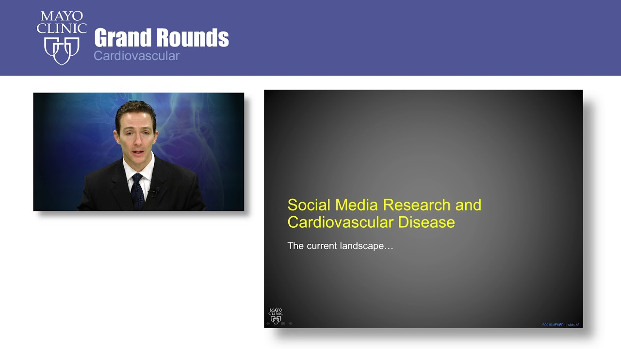 CV Grand Rounds – The Value of Social Media in Academic Medicine: What are the data? - YouTube