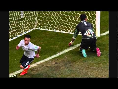 Mathieu Valbuena GOAL 5-2 France vs Switzerland 2014 World Cup [REVIEW]