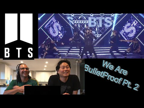 Clueless Guys reacting to  - BTS  - We are Bulletproof Pt.1 +2