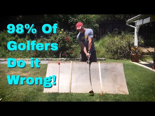This IDIOT Discovered the SECRET to GOLF! [No kidding!  You'll be amazed.]