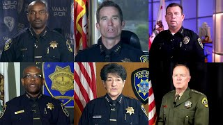 The recipe California officers follow to release police shooting videos